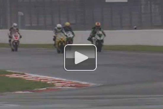 Ατύχημα με πολύ παράξενη εξέλιξη σε αγώνα μοτοσυκλέτας