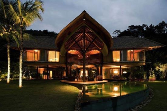 Εντυπωσιακό σπίτι - φύλλο στη Βραζιλία (1)