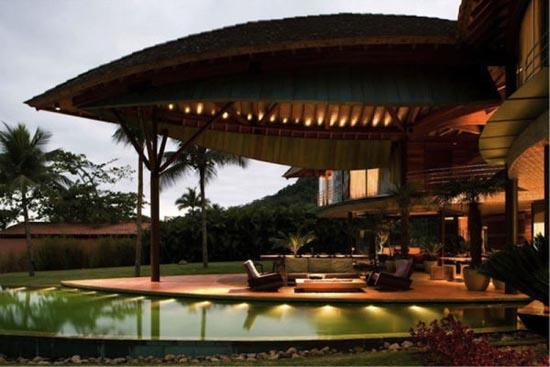 Εντυπωσιακό σπίτι - φύλλο στη Βραζιλία (5)
