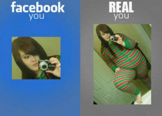Facebook vs πραγματικότητα (1)
