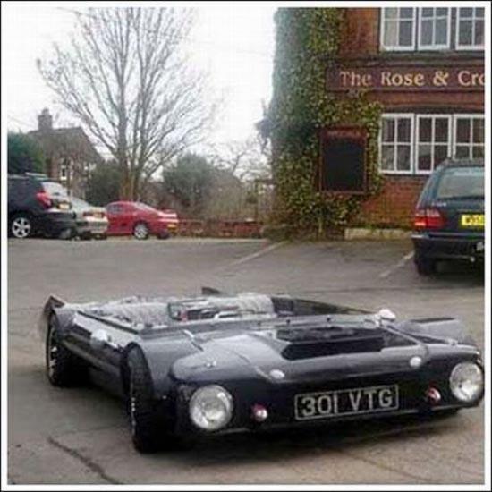 Flatmobile: Το πιο κοντό αυτοκίνητο του κόσμου (1)