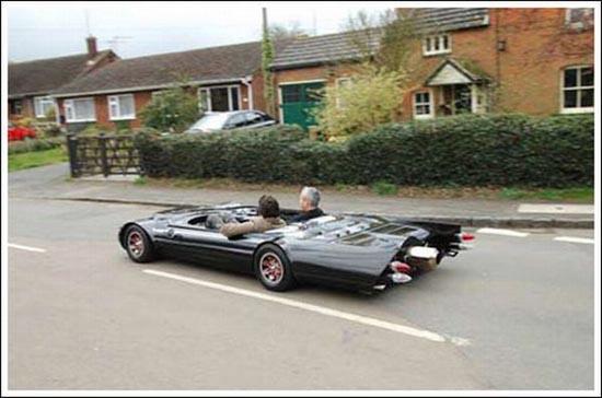 Flatmobile: Το πιο κοντό αυτοκίνητο του κόσμου (4)