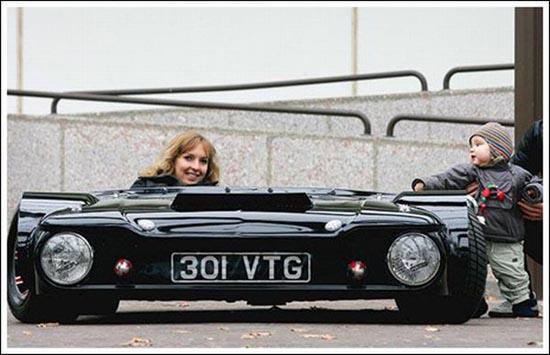 Flatmobile: Το πιο κοντό αυτοκίνητο του κόσμου (12)