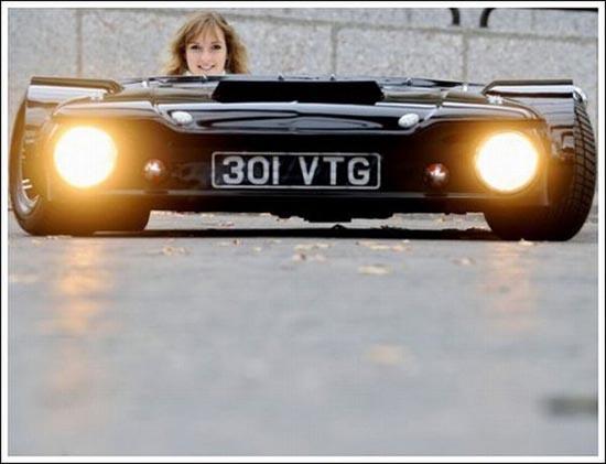 Flatmobile: Το πιο κοντό αυτοκίνητο του κόσμου (13)