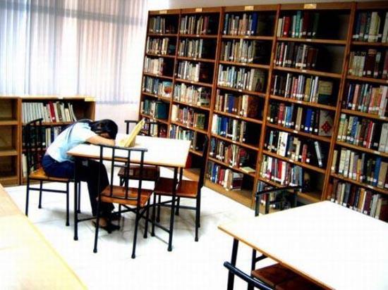 Φοιτητές που κοιμούνται στις βιβλιοθήκες (21)