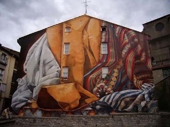 Εντυπωσιακά graffiti μεγάλης κλίμακας (2)