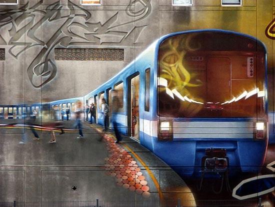 Εντυπωσιακά graffiti μεγάλης κλίμακας (9)