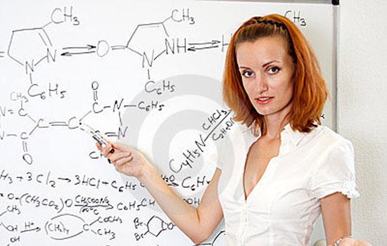 Καθηγήτρια Χημείας