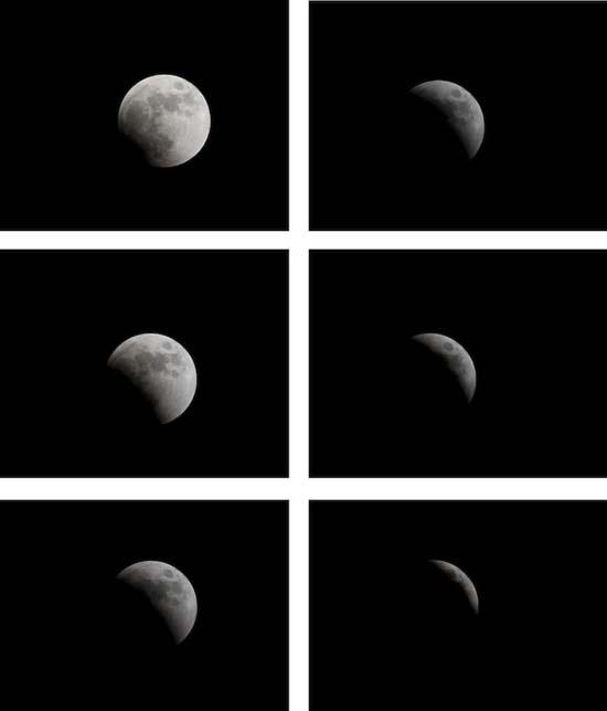 Εντυπωσιακές εικόνες από την ολική έκλειψη Σελήνης (9)