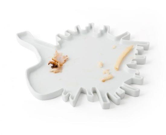 Πιάτα σε παράξενα σχέδια (9)