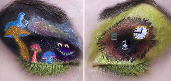 Παράξενες σκιές ματιών (6)