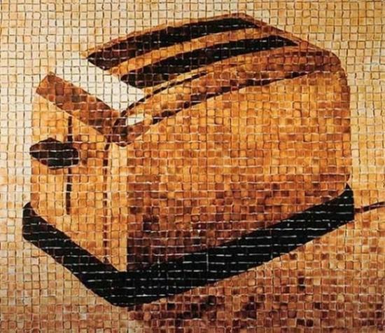 Φωτογραφία της ημέρας: Φρυγανιέρα από ψωμί του τοστ