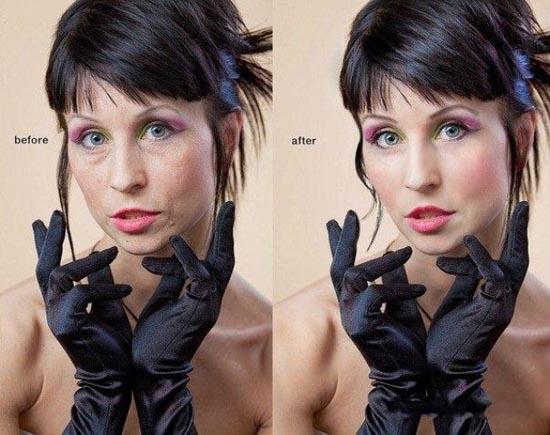 Πριν & μετά το Photoshop (3)