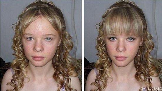 Πριν & μετά το Photoshop (9)