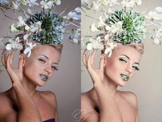 Πριν & μετά το Photoshop (10)