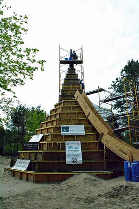 Χτίζοντας το ψηλοτερό κάστρο από άμμο (3)