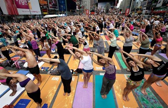 Yoga στο κέντρο της Νέας Υόρκης (3)
