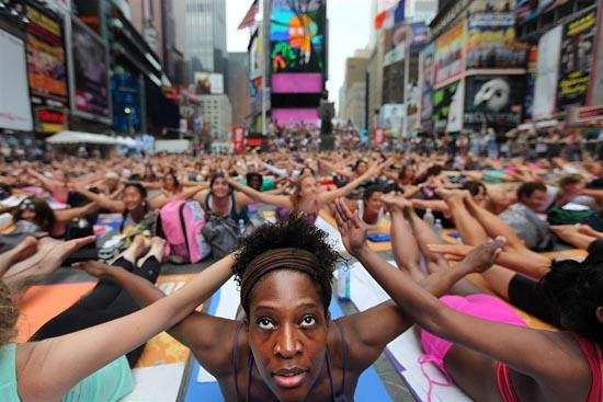 Yoga στο κέντρο της Νέας Υόρκης (2)