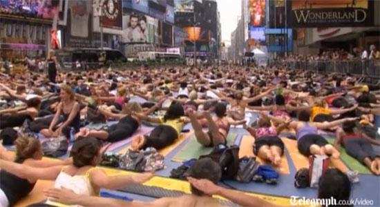 Yoga στο κέντρο της Νέας Υόρκης (6)