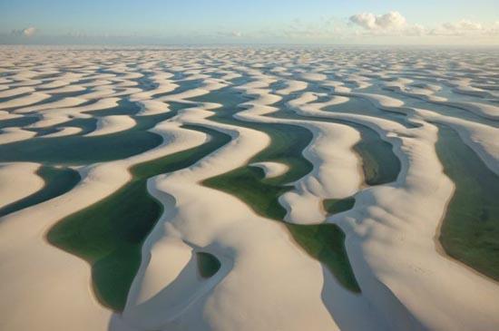 Εντυπωσιακοί αμμόλοφοι στην Βραζιλία (2)