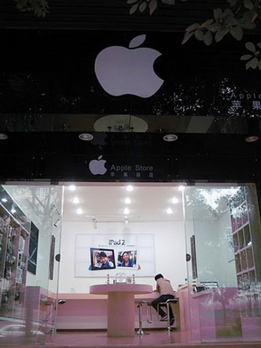 Applestore απομίμηση στην Κίνα (2)
