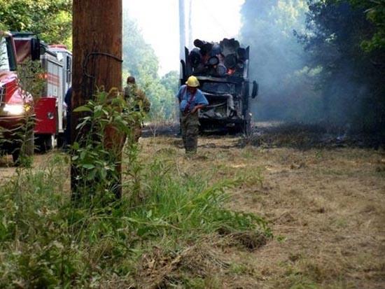 Ατυχήμα φορτηγού με 7.200 volts (1)