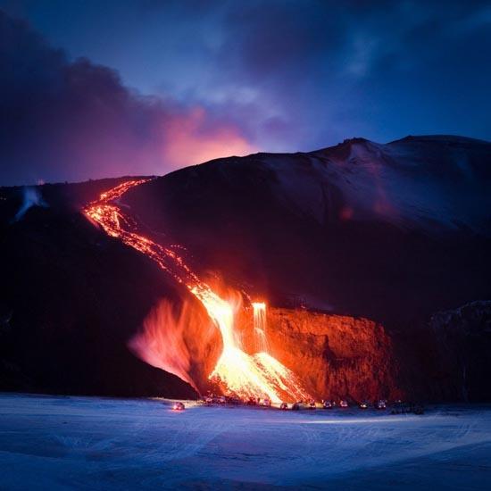 Εκπληκτικές φωτογραφίες ηφαιστειακών εκρήξεων (1)