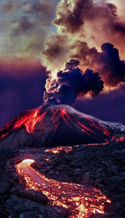 Εκπληκτικές φωτογραφίες ηφαιστειακών εκρήξεων (12)