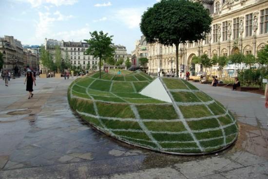 Εκπληκτική οφθαλμαπάτη έξω από το δημαρχείο του Παρισιού (2)