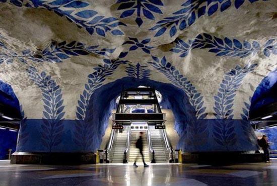 Το εντυπωσιακό μετρό της Στοχόλμης (1)