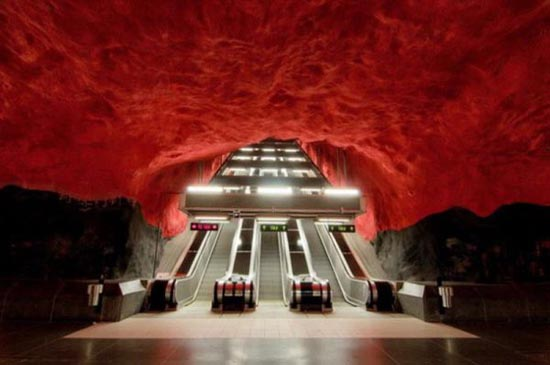 Το εντυπωσιακό μετρό της Στοχόλμης (2)