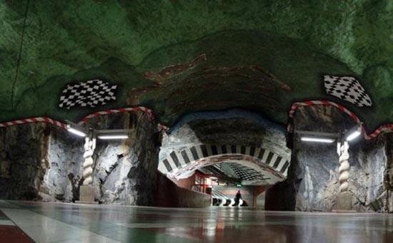 Το εντυπωσιακό μετρό της Στοχόλμης (3)