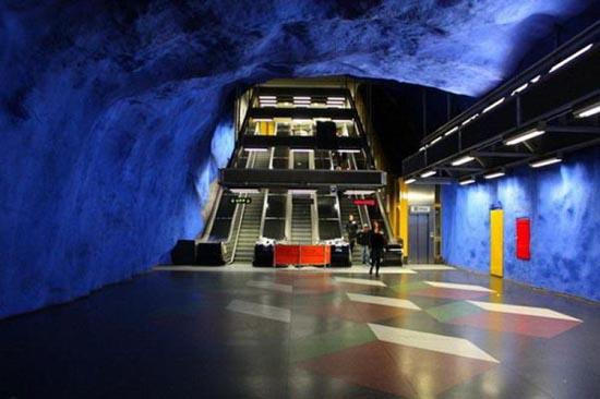 Το εντυπωσιακό μετρό της Στοχόλμης (11)