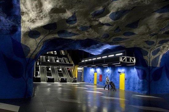 Το εντυπωσιακό μετρό της Στοχόλμης (12)