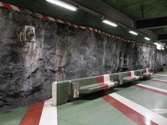Το εντυπωσιακό μετρό της Στοχόλμης (21)