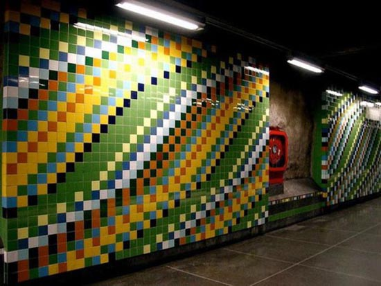 Το εντυπωσιακό μετρό της Στοχόλμης (27)