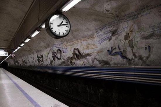 Το εντυπωσιακό μετρό της Στοχόλμης (29)