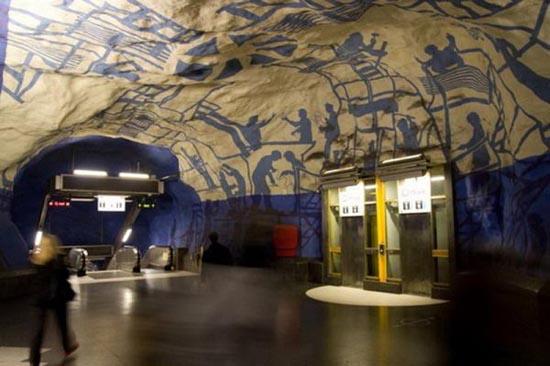 Το εντυπωσιακό μετρό της Στοχόλμης (31)