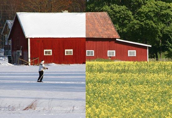 Καλοκαίρι vs Χειμώνας (2)
