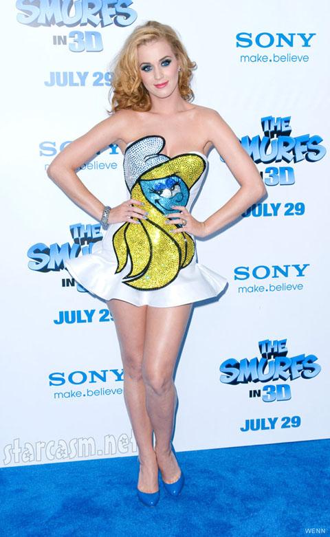 Η Katy Perry «Στρουμφίτα» (2)