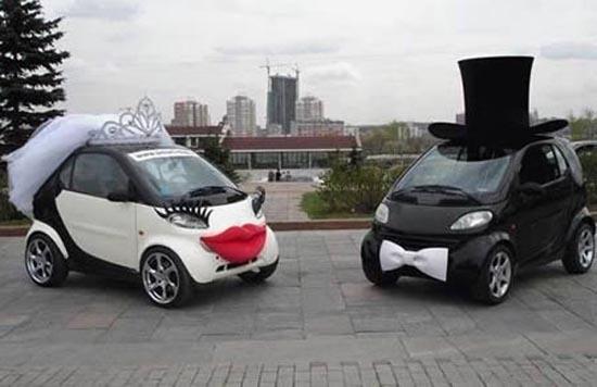 Παράξενα αυτοκίνητα γάμου (12)