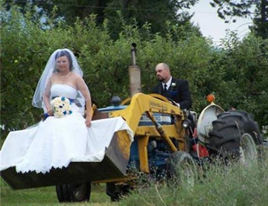 Παράξενα αυτοκίνητα γάμου (9)