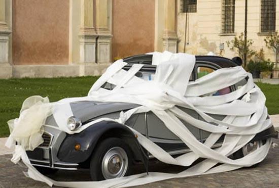 Παράξενα αυτοκίνητα γάμου (5)