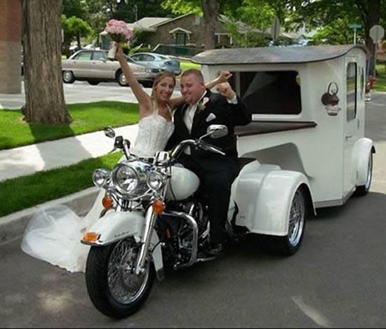 Παράξενα αυτοκίνητα γάμου (4)