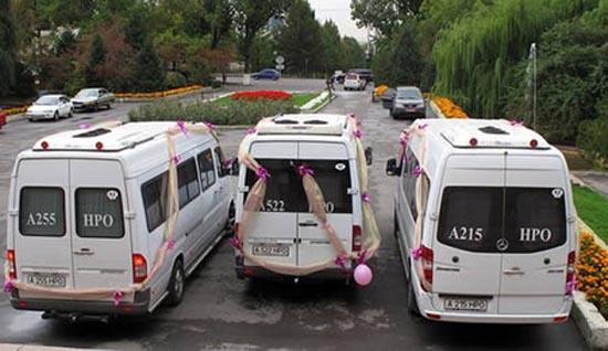 Παράξενα αυτοκίνητα γάμου (2)