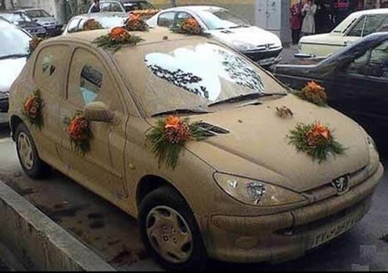 Παράξενα αυτοκίνητα γάμου (1)