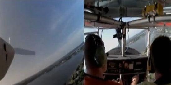 Εκπληκτική προσγείωση αεροπλάνου χωρίς κινητήρα
