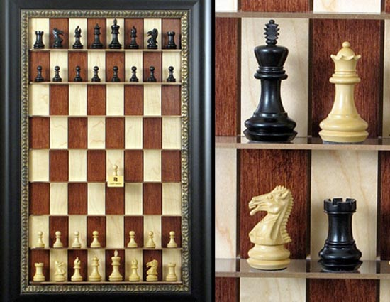 Σκάκι σε παράξενες και ασυνήθιστες μορφές (10)