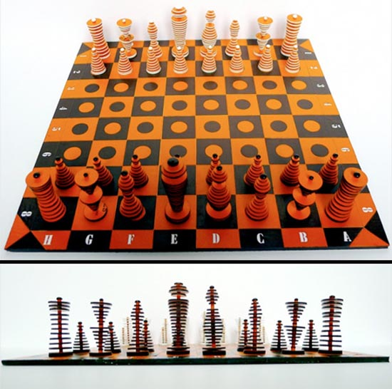 Σκάκι σε παράξενες και ασυνήθιστες μορφές (12)
