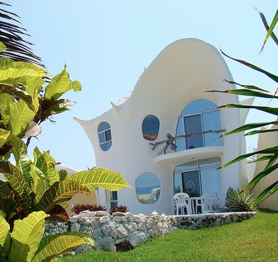 Σπίτι σε σχήμα κοχυλιού (6)